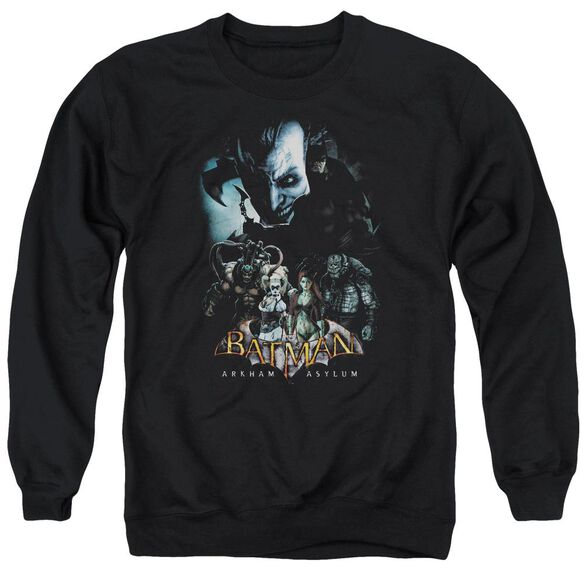 Batman Aa Five Against One Adult Crewneck Sweatshirt