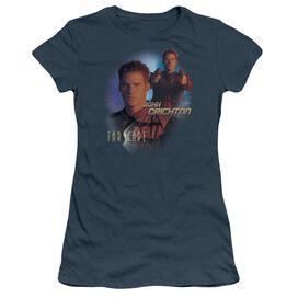 Farscape John Crichton Short Sleeve Junior Sheer T-Shirt