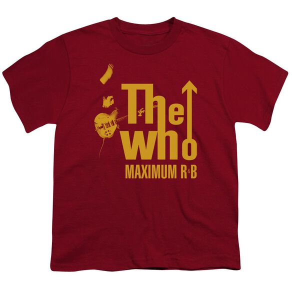 The Who Maximum R&B Short Sleeve Youth T-Shirt