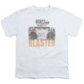 Scott Weiland Blaster Short Sleeve Youth T-Shirt