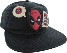 Deadpool Common Sense Snapback Hat