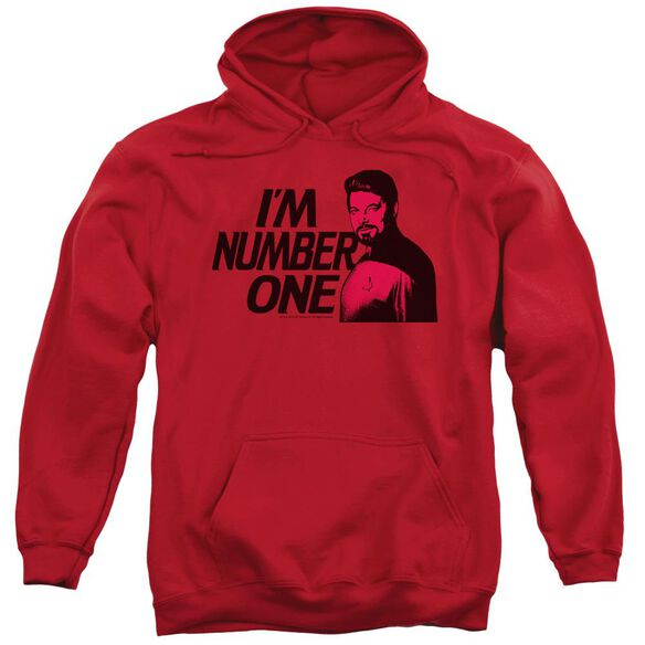 Star Trek Im Number One Adult Pull Over Hoodie