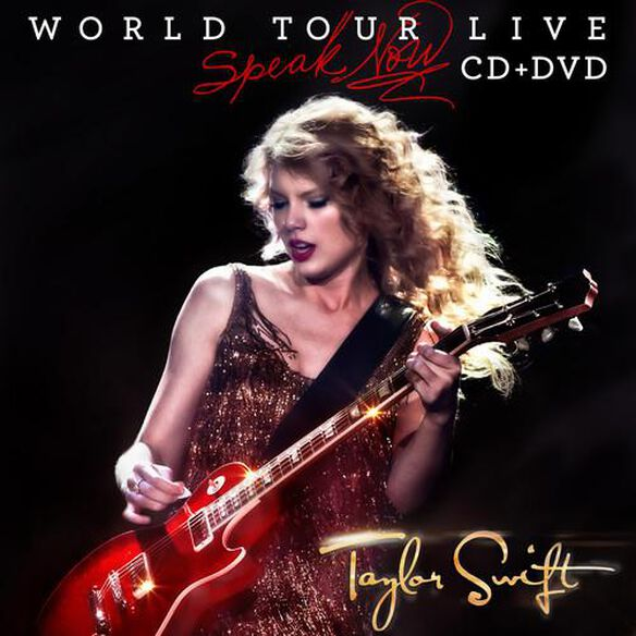 Speak Now World Tour Live (W/Dvd)