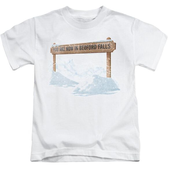 Its A Wonderful Life Bedford Falls Short Sleeve Juvenile T-Shirt
