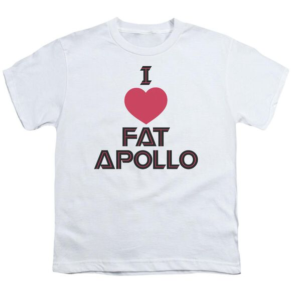 Bsg I Heart Fat Apollo Short Sleeve Youth T-Shirt