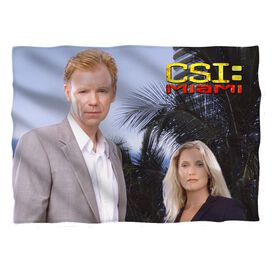 Csi Miami Blue Sky Pillow Case White