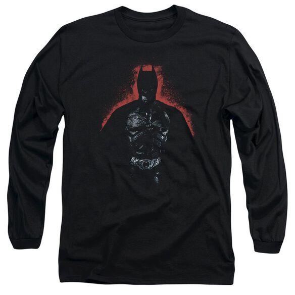 Dark Knight Rises Into The Dark Long Sleeve Adult T-Shirt