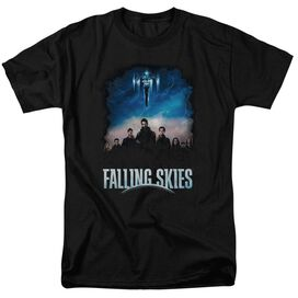 Falling Skies Main Players Short Sleeve Adult T-Shirt