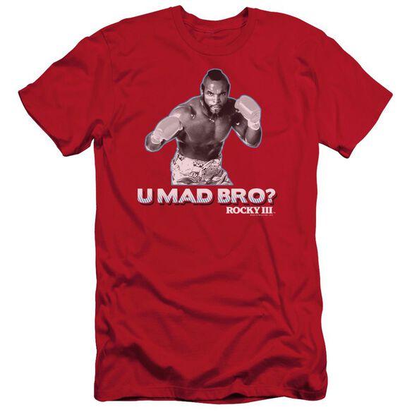 Rocky Iii U Mad Bro Short Sleeve Adult T-Shirt