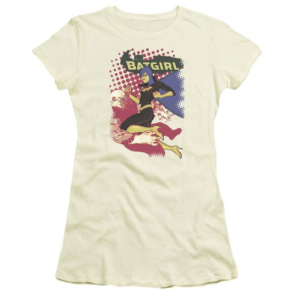 Batman Batgirl Crunch Short Sleeve Junior Sheer T-Shirt