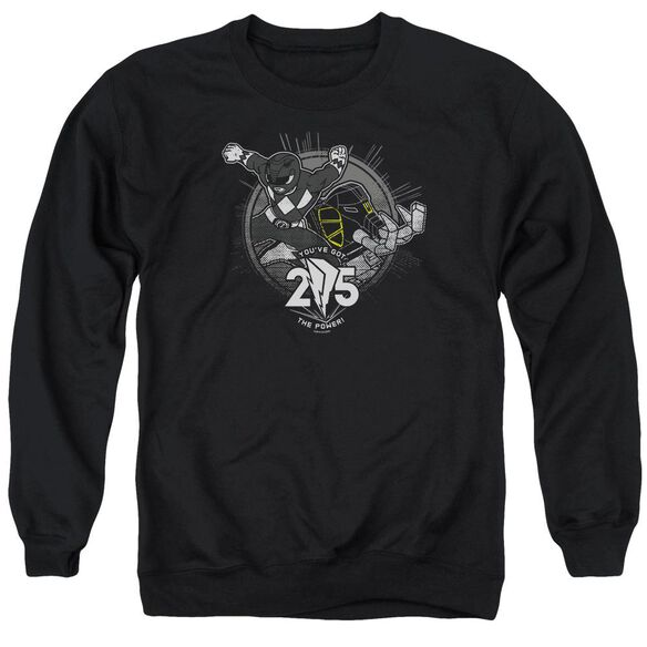 Power Rangers 25 Adult Crewneck Sweatshirt