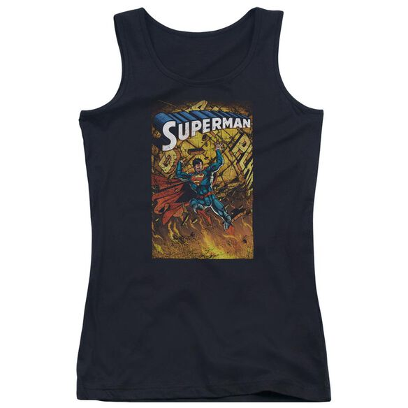 Superman One Juniors Tank Top