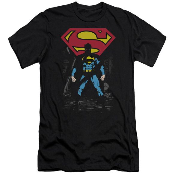 Superman Dark Alley Premuim Canvas Adult Slim Fit