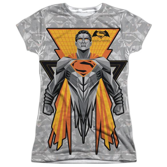 Batman V Superman Super Tech Sub Short Sleeve Junior Poly Crew T-Shirt