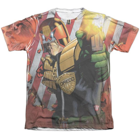 Judge Dredd Democracy Adult Poly Cotton Short Sleeve Tee T-Shirt