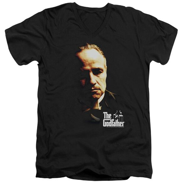 Godfather Don Vito Short Sleeve Adult V Neck T-Shirt