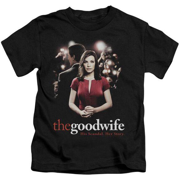 The Good Wife Bad Press Short Sleeve Juvenile T-Shirt