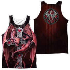 Anne Stokes Gothic Guardian (Front Back Print) Adult 100% Poly Tank Top