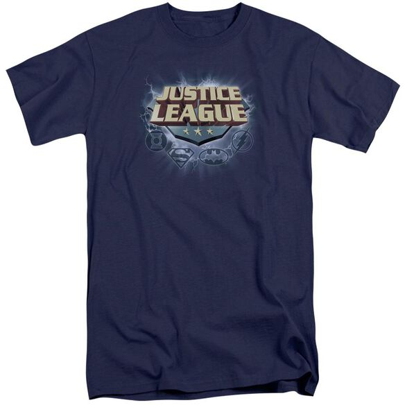 Jla Storm Logo Short Sleeve Adult Tall T-Shirt