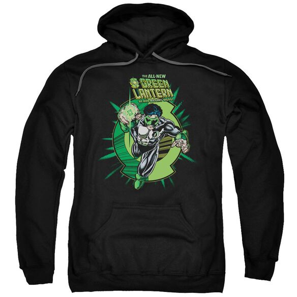 Green Lantern Rayner Cover Adult Pull Over Hoodie Black
