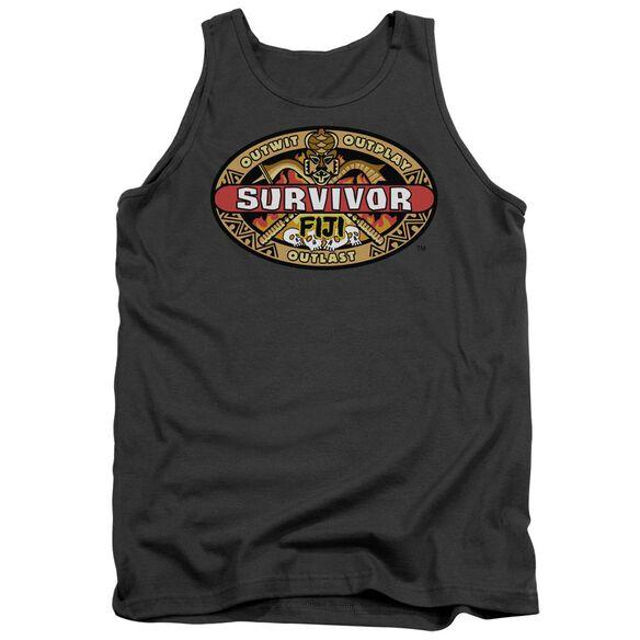 Survivor Fiji - Adult Tank - Charcoal