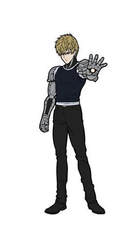 One Punch Man - Genos FiGPiN