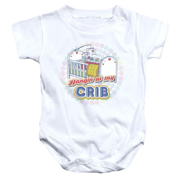 My Crib Infant Snapsuit White Xl