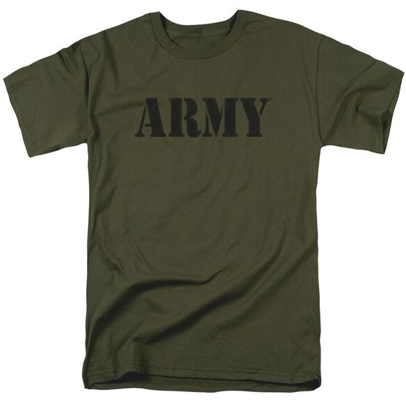 Army Army Short Sleeve Adult Military Green T-Shirt