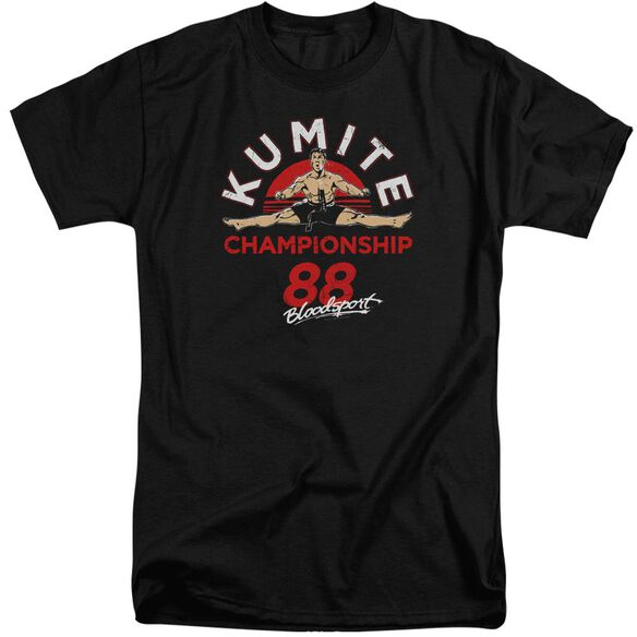 Bloodsport Championship 88 Short Sleeve Adult Tall T-Shirt