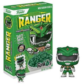 Power Rangers - Green Ranger Funko's Cereal