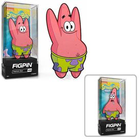 SpongeBob SquarePants Patrick Star FiGPiN w/Chance of Chase