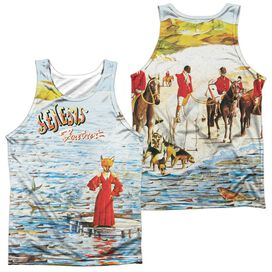 Genesis Foxtrot Cover (Front Back Print) Adult Poly Tank Top