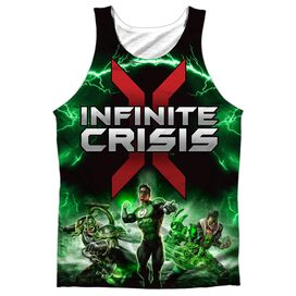 Infinite Crisis Ic Green Lantern Adult 100% Poly Tank Top