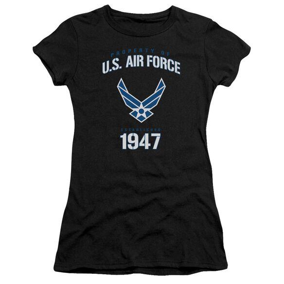 Air Force Property Of Premium Bella Junior Sheer Jersey