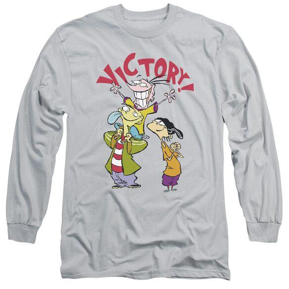 Ed Edd N Eddy Victory Long Sleeve Adult T-Shirt
