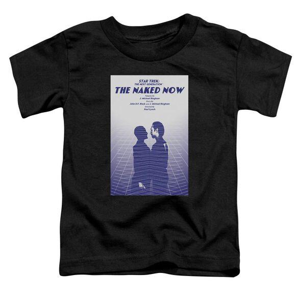 Star Trek Tng Season 1 Episode 3 Short Sleeve Toddler Tee Black Sm T-Shirt