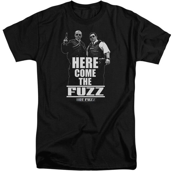 Hot Fuzz Here Come The Fuzz Short Sleeve Adult Tall T-Shirt