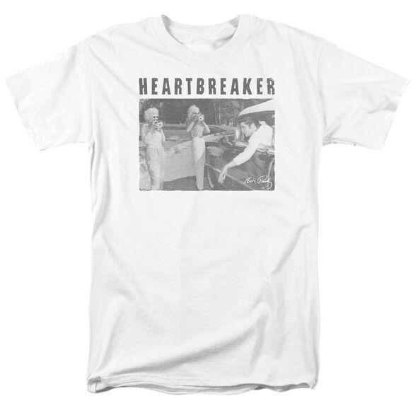 Elvis Heartbreaker Short Sleeve Adult T-Shirt