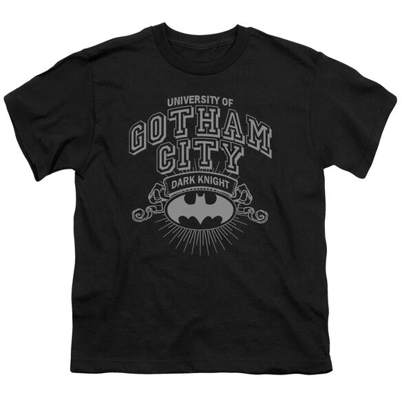 Batman University Of Gotham Short Sleeve Youth T-Shirt