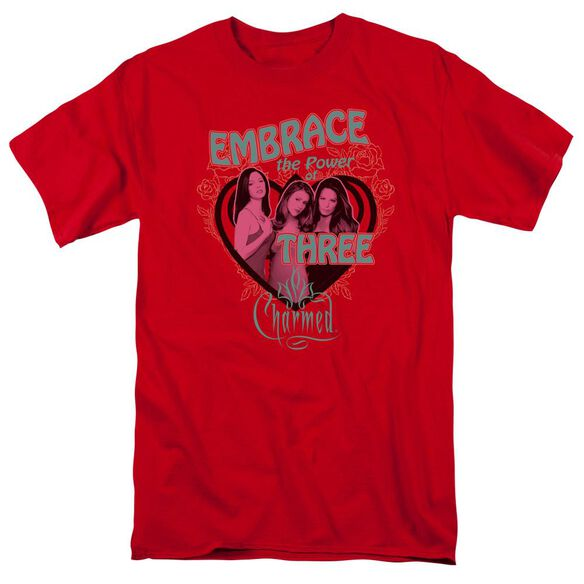 Charmed Embrace The Power Short Sleeve Adult T-Shirt