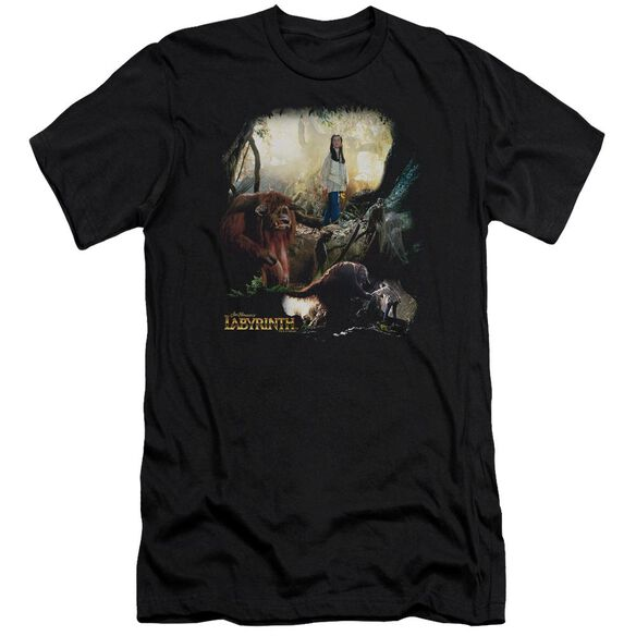 Labyrinth Sarah & Ludo Short Sleeve Adult T-Shirt