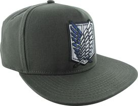Attack On Titan Survey Corps Logo Snapback Hat