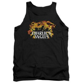 Charlies Angels Fire Adult Tank