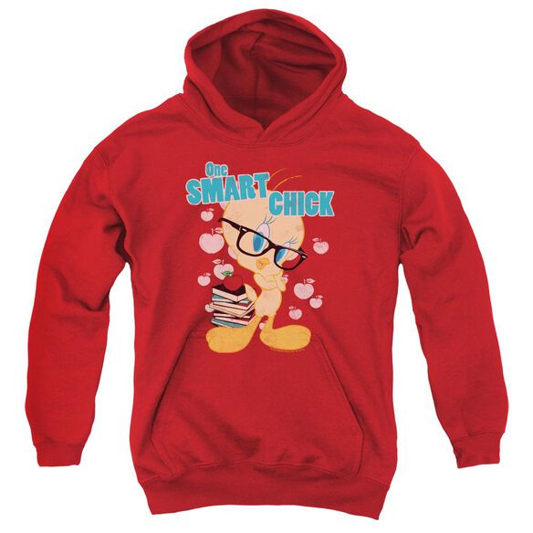 Looney Tunes One Smart Chick Youth Pull Over Hoodie