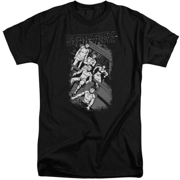 STAR TREK RETRO TILTED BRIDGE-S/S T-Shirt