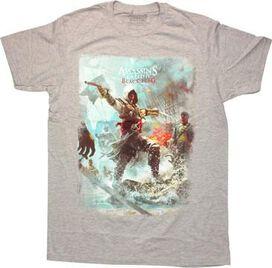 Assassins Creed 4 Edward T-Shirt Sheer