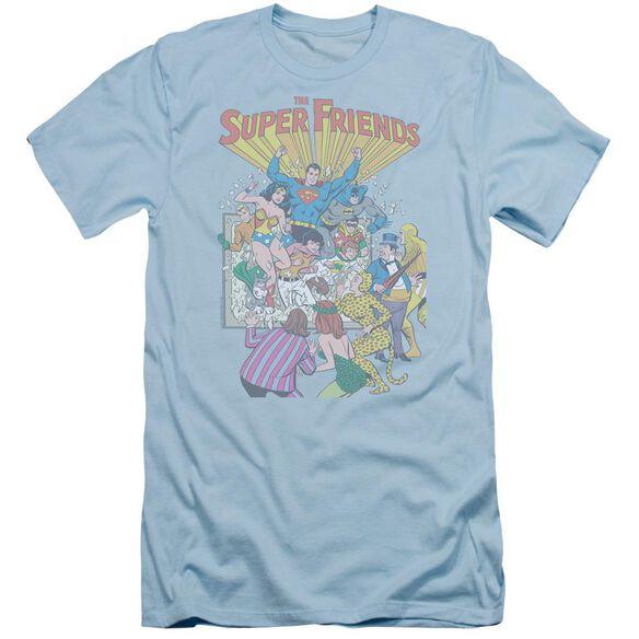 Jla Super Friends #1 Short Sleeve Adult Light T-Shirt