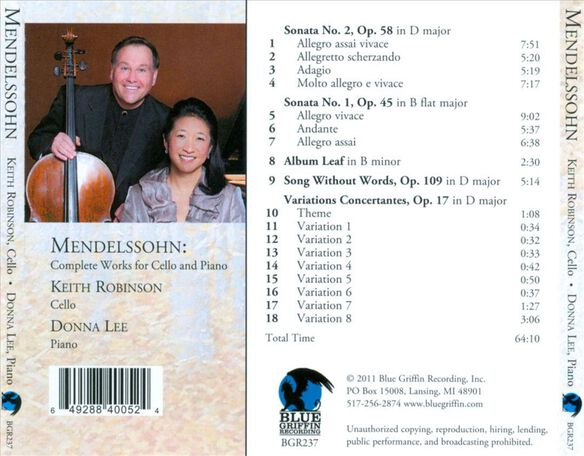 Complete Works For Cello