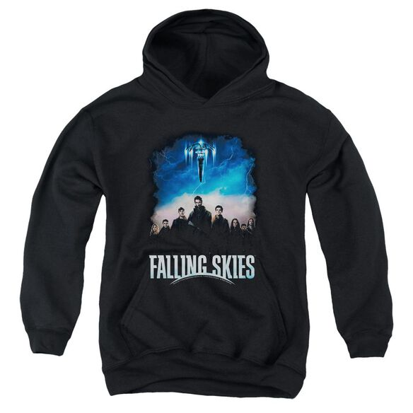 Falling Skies Main Players Youth Pull Over Hoodie