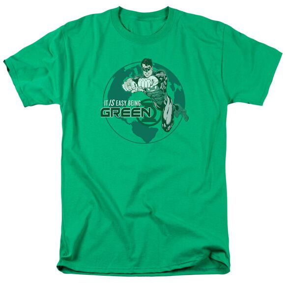 Gl Easy Being Green Short Sleeve Adult Kelly Green T-Shirt